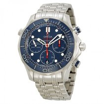 Omega Seamaster Diver Chronograph Blue Dial 212.30.42.50.03.001