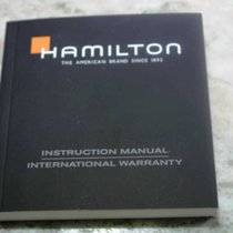 Hamilton vintage booklet warranty papers chronograph