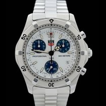 TAG Heuer TagHeuer - Professional Serie 2000 - Edelstahl -...