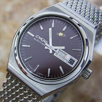 Enicar Automatic Stainless Steel Mens 1970s Dress Watch L82