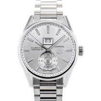 TAG Heuer Carrera GMT Automatic 41 All Silver Calibre 8