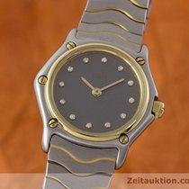 Ebel Classic Wave Lady Gold / Stahl Brillanten Damenuhr...