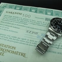 Rolex SUBMARINER 168000 Black Dial with Paper (Triple 0)