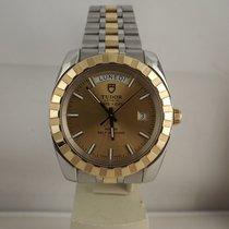 Tudor Prince Date + Day  41mm ref. 23013 Classic acciaio oro