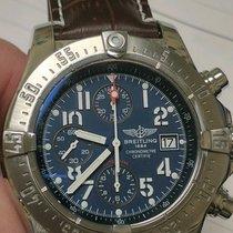 Breitling Avenger Skyland A13380 Automatic Chronograph Blue...