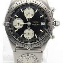 Breitling Chronomat Pilot Dual Time On Strap Ref A13048...