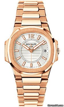 Patek Philippe Nautilus Ladies Rose Gold