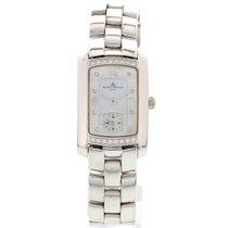 Baume & Mercier Ladies  18k White Gold & Diamonds...