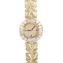 Audemars Piguet Ladies Diamond Watch in Yellow Gold with Diamonds