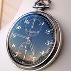Minerva 17.29 CH Mono Pusher Chronograph 49mm Steel Black Dial...