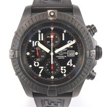 Breitling Super Avenger Blacksteel M1337010 with papers