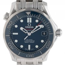 Omega Seamaster Diver 300m Co-Axial Stahl Automatik Armband...