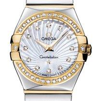 Omega Constellation Polished 24mm 123.25.24.60.55.008