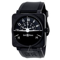 Bell & Ross Men's Aviation BR01 Flight Instruments Watch