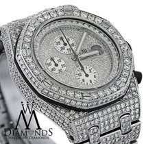 Audemars Piguet Diamonds  Royal Oak Offshore Watch Diamond...
