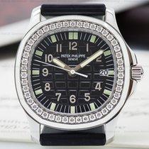 Patek Philippe 5067A Lady Aquanaut SS Black Dial / Diamond...