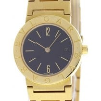 Bulgari Ladies  18K Yellow Gold BB 26 GGD