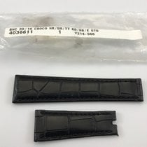 Rolex New Rolex Replacement Strap Black Alligator Leather...