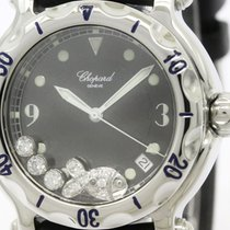 Chopard Polished Chopard Happy Spots Fish Diamond Steel Ladies...