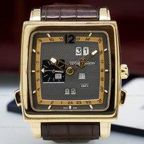 Ulysse Nardin 326-90/69 Quadrato Dual Time Perpetual 18k Rose...