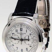 Patek Philippe 5070 18K White Gold Chronograph Mens Watch...