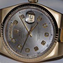 Rolex OysterQuartz Day-Date President 18K Solid Gold Diamonds