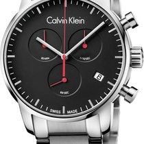 ck Calvin Klein City Chrono K2G27141 Herrenchronograph Swiss Made