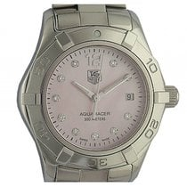 TAG Heuer Aquaracer Lady Perlmutt Diamond Stahl Quarz 27mm