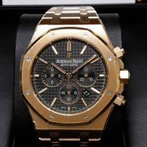 Audemars Piguet 26320OR Royal Oak Rose Gold 41mm Black Dial...