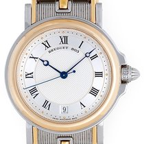 Breguet Marine Men's Steel & 18k Yellow Gold Automatic...