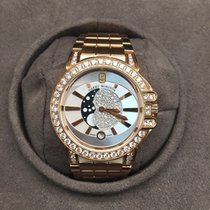 Harry Winston Ocean Lady Moonphase OCEQMP36RR010 18K Rose Gold
