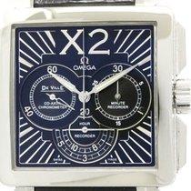 Omega Polished Omega De Ville X2 Chronograph Steel Watch...
