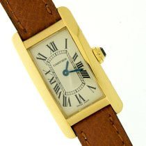 Cartier Tank Americaine REF. 2482 Yellow gold oro 18 kt