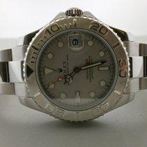 Rolex Yachtmaster 168622 S/s & Platinum 35mm Unisex Watch...