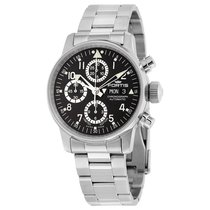 Fortis Flieger Classic Stainless Steel Automatic Mens Watch...