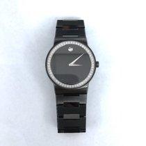 Movado Sapphire  Black Bracelet
