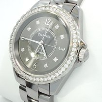 Chanel J12 Titanium Ceramic Factory Diamonds Chromatic 38mm...
