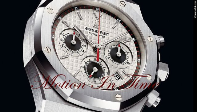 Audemars Piguet ROYAL OAK CHRONOGRAPH AUTOMATIC &amp;#34;PANDA&amp;#34; WHITE DIAL