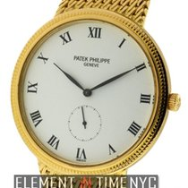 Patek Philippe Calatrava 18k Yellow Gold 34mm