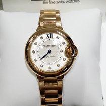 Cartier Ballon Bleu 18K Pink Gold 33mm [NEW]