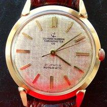 Ulysse Nardin Chronometer Gelb Gold 14K 585 Vintage Automatik...