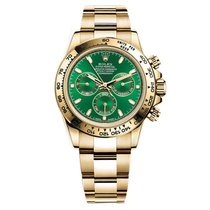 Rolex DAYTONA YELLOW GOLD GREEN DIAL
