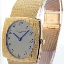 Vacheron Constantin Vintage Mens 18k Gold Bracelet Watch...