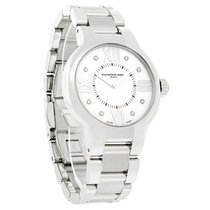 Raymond Weil Noemia Diamond Ladies Stainless Steel Mop Watch...
