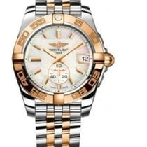 Breitling Galactic 36 mm  Automatic SS and 18Y gold Model:...