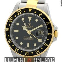 Rolex GMT-Master II Steel & Gold Black Dial P Serial Ref....