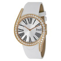 Piaget Limelight Gala 18Kt Rose Gold Diamond Silver Dial...