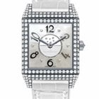 Jaeger-LeCoultre Reverso Squadra Lady Duetto Silver Dial 18kt...