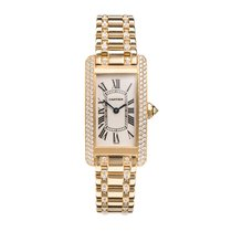 Cartier Ladies Tank Américaine Diamond set