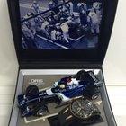 Oris TT3 Chronograph 2nd Timezone Black Dial, Black Rubber